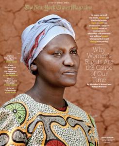 """New York Times Magazine:  """"The Women's Crusade"""""""