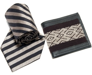 Is Dad in need of a wardrobe update? Help him out with a sleek silk tie or a handsome leather wallet. He can look good while supporting fair trade—what's more stylish than that?